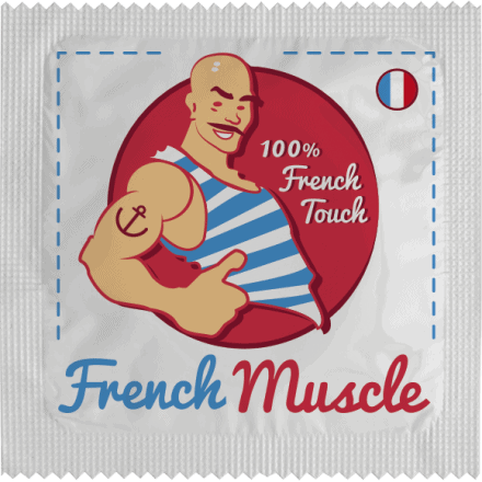 Préservatif French Muscle - French Touch