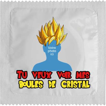 Condom Boules de Cristal for customisation
