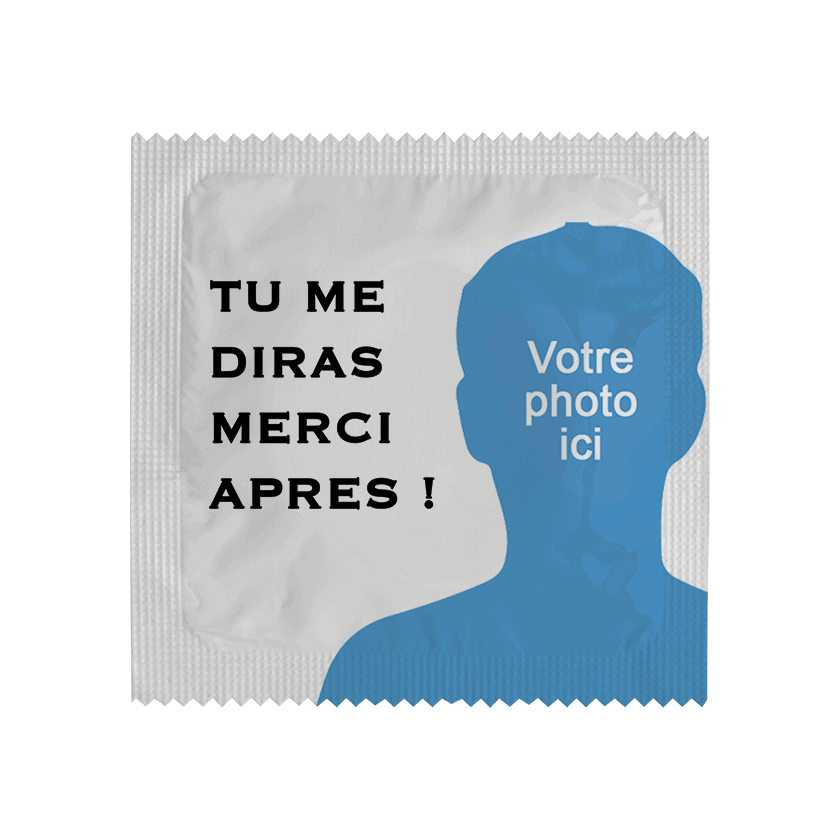 Condom Tu Me Diras Merci Après for customization