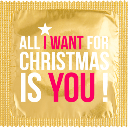 Préservatif ALL I WANT FOR CHRISTMAS IS YOU