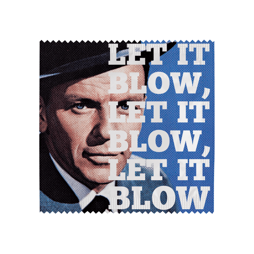 Préservatif LET IT BLOW, LET IT BLOW, LET IT BLOW